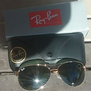 Brand New Black RayBan Aviators RB3386 63mm